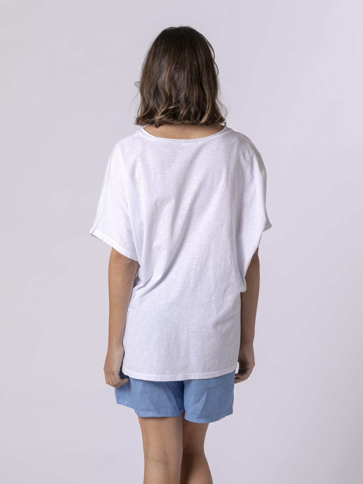Camiseta mujer no bad days Azul