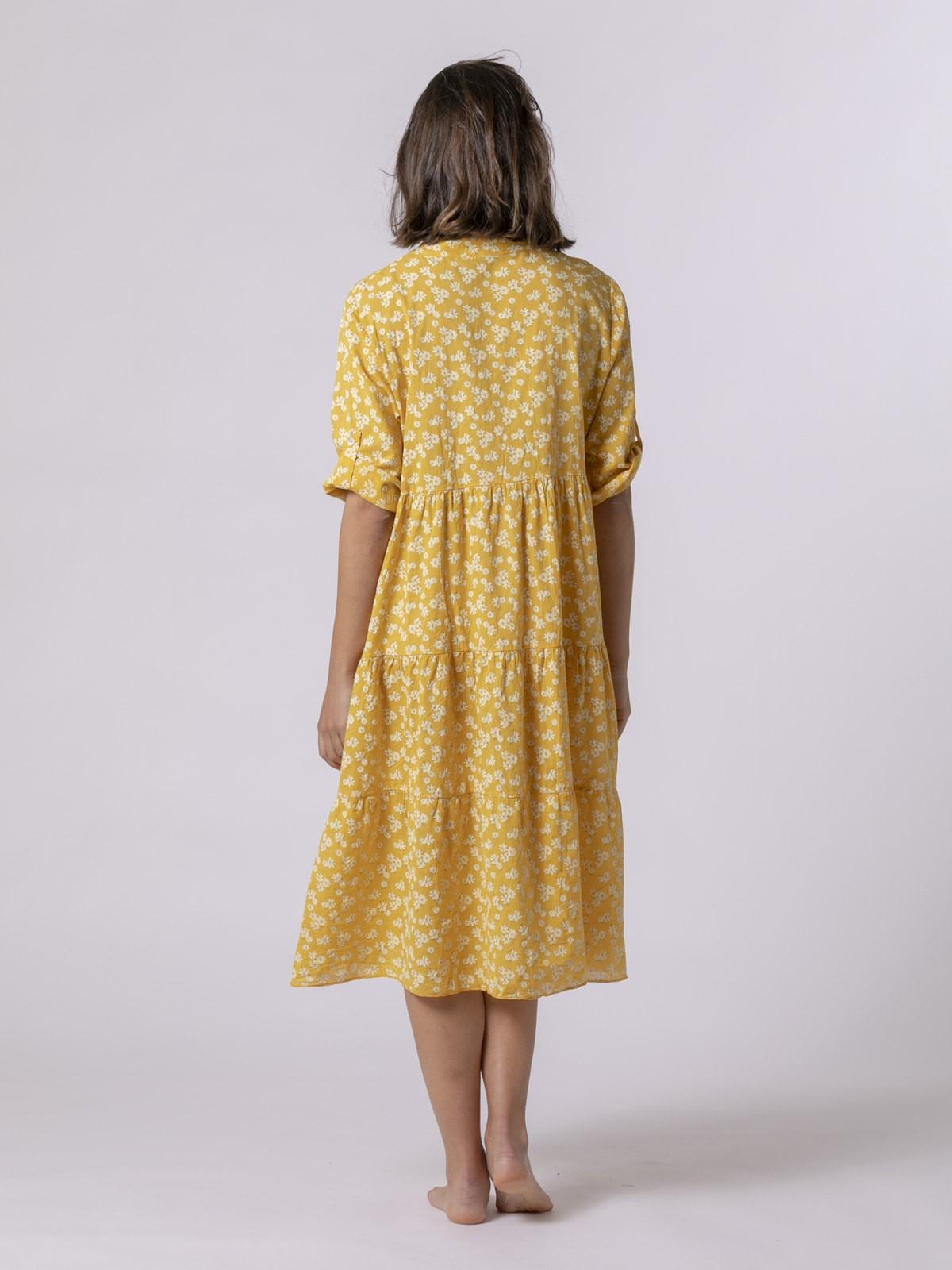 Vestido mujer elle Amarillo