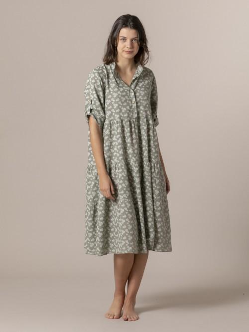 Woman Elle dress Khaki