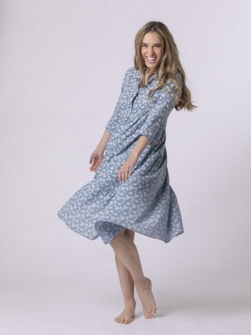 Woman Elle dress Blue