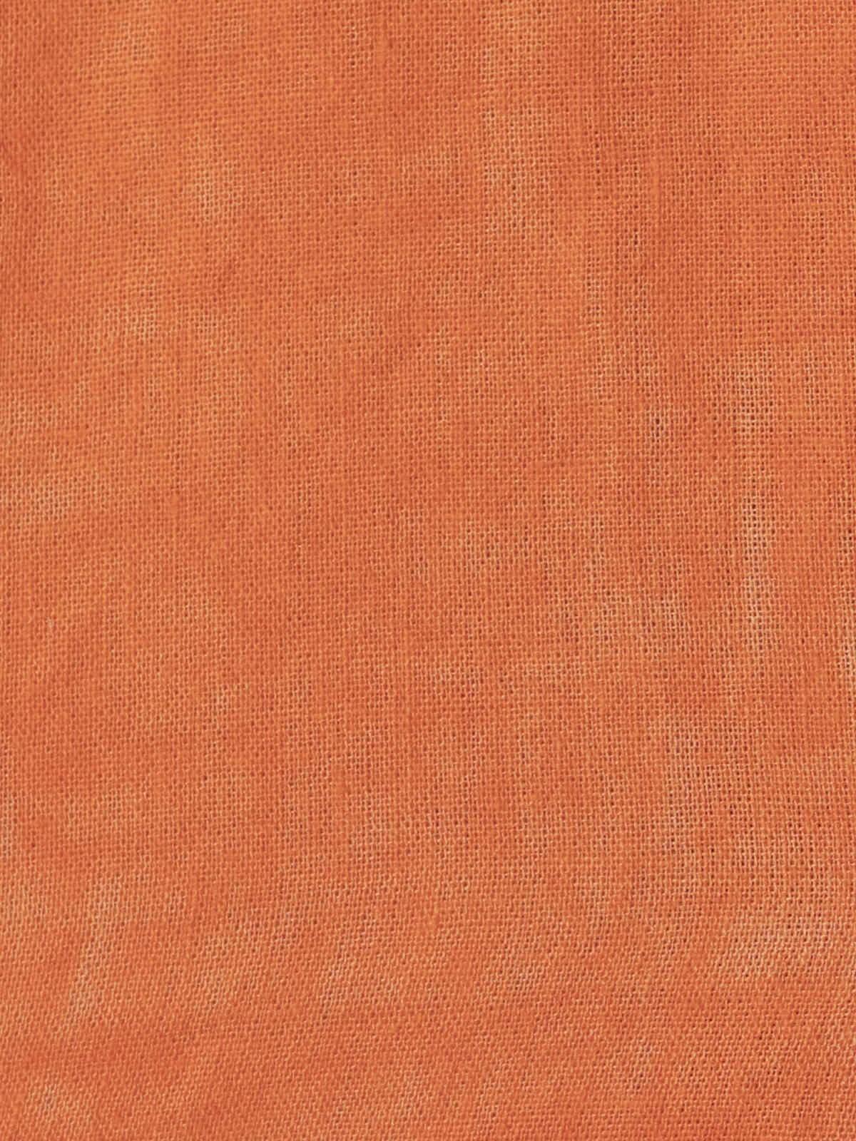 Woman Woman Smooth flowing shirt Orange