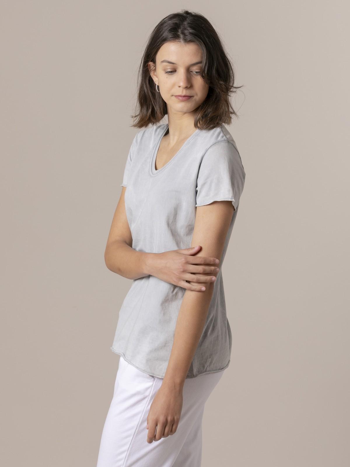 Woman Woman Plain tint eco t-shirt Grey