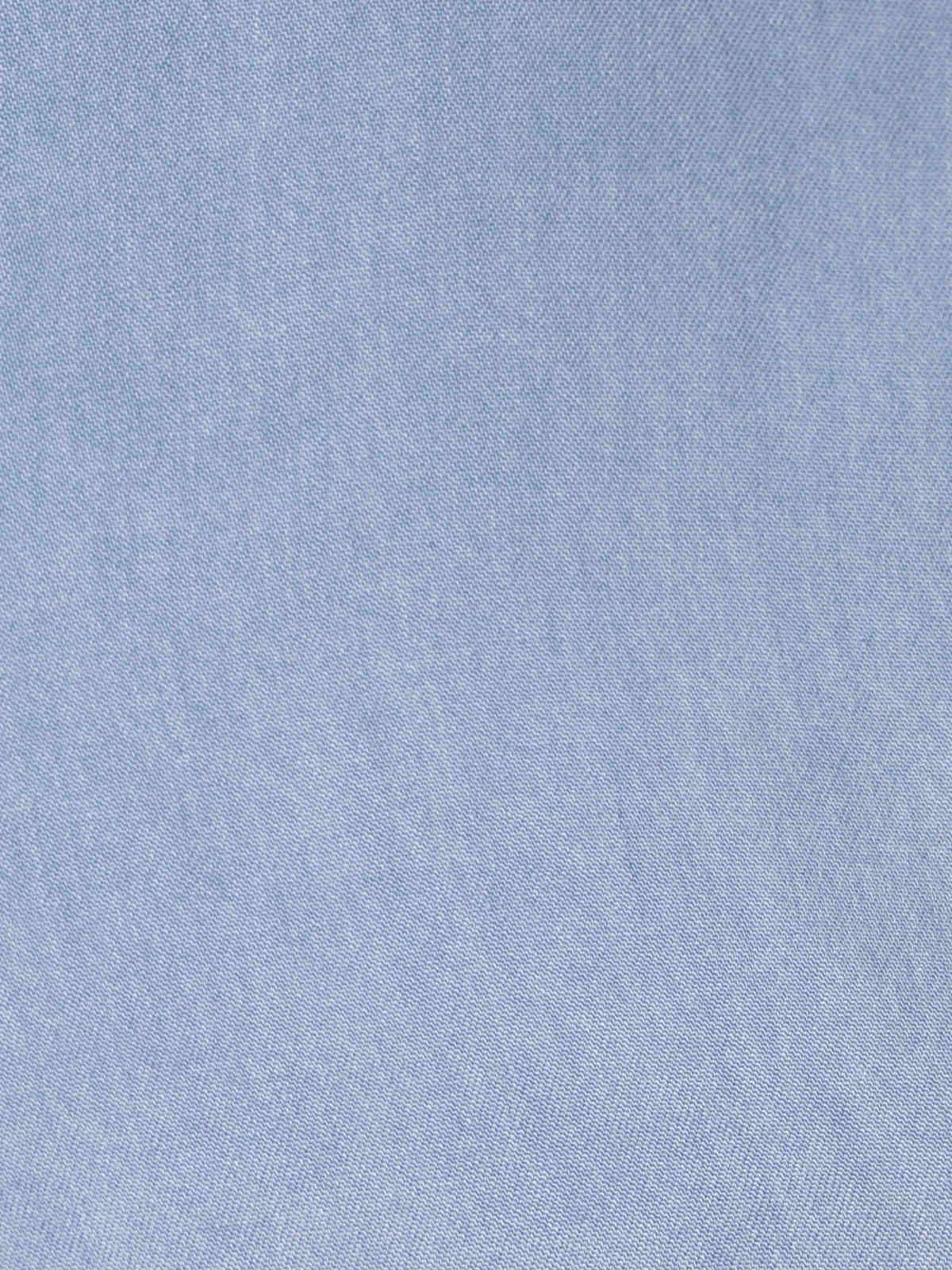 Camisa mujer tencel Azul