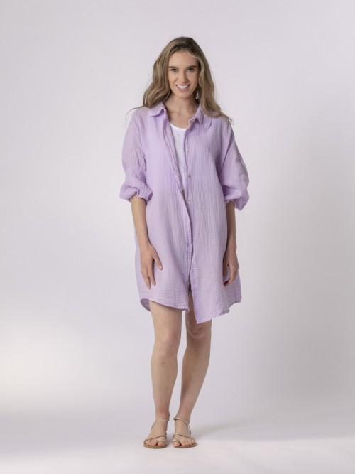 Woman Button-down shirt Lila