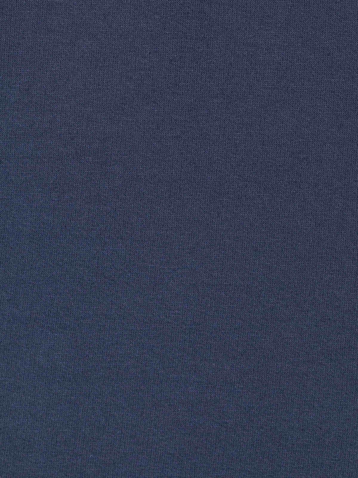 Sudadera mujer oversize raquetas retro Azul Marino