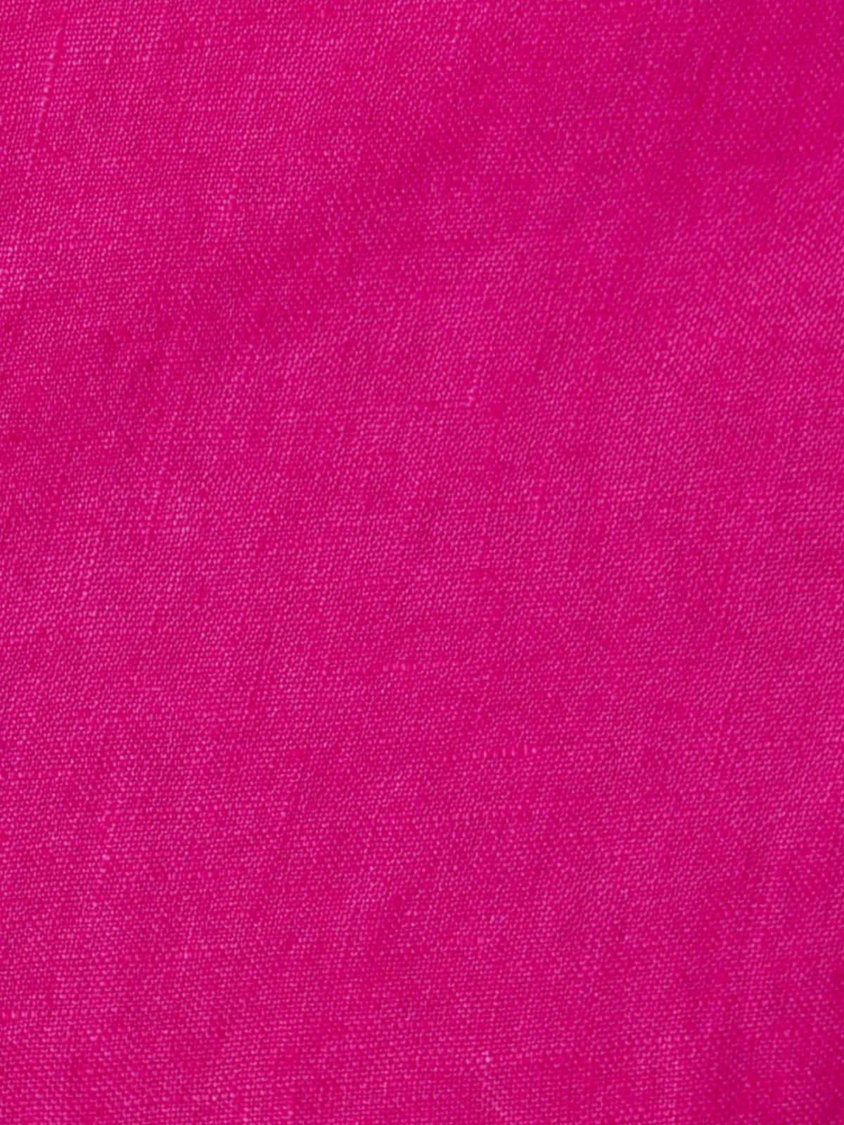 Bermuda mujer lino 100% Fucsia