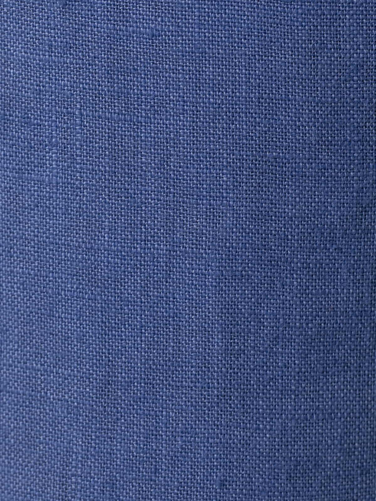 Patalón mujer de lino 100% Azul