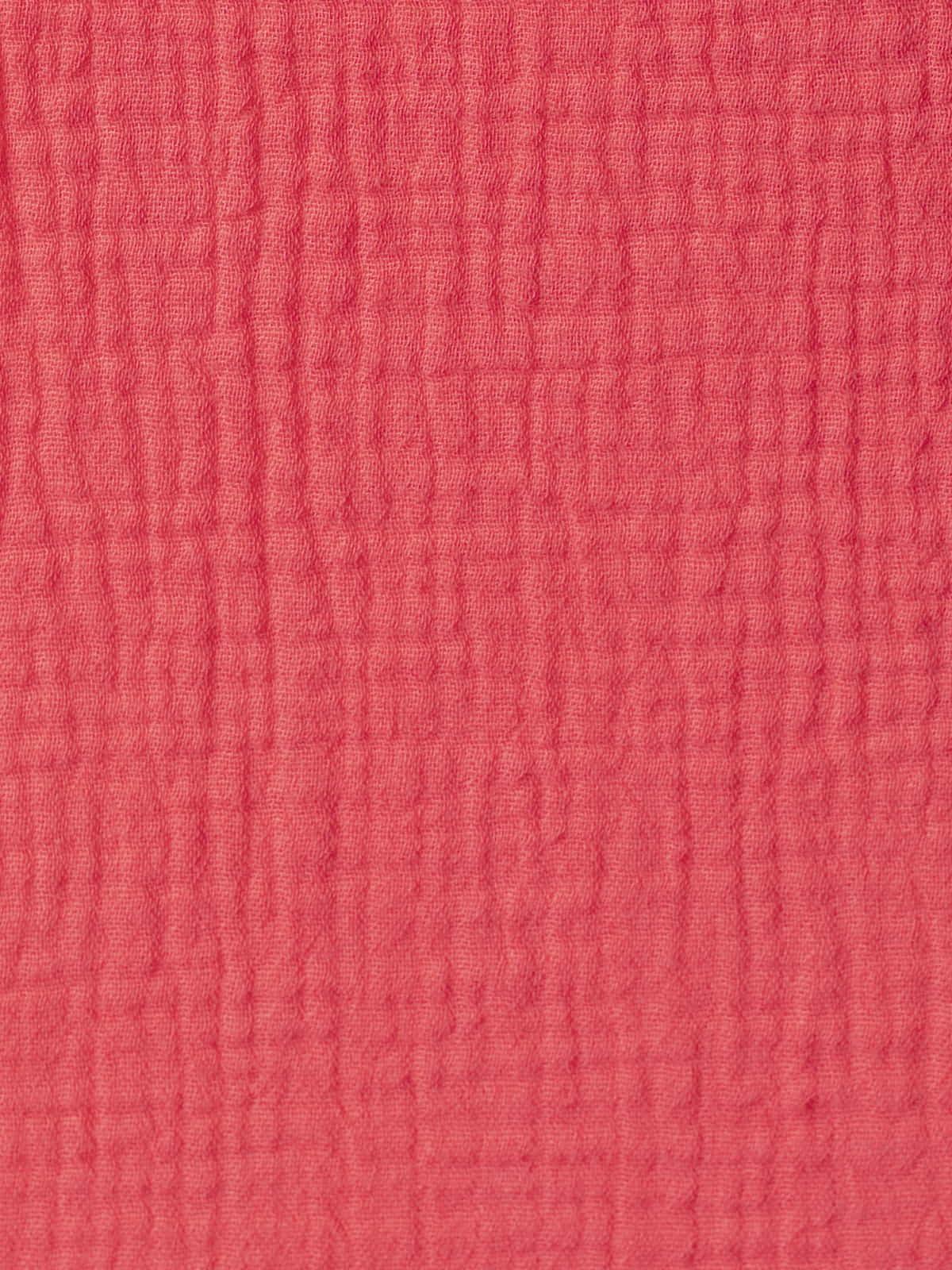 Top de algodón arrugado Fresa