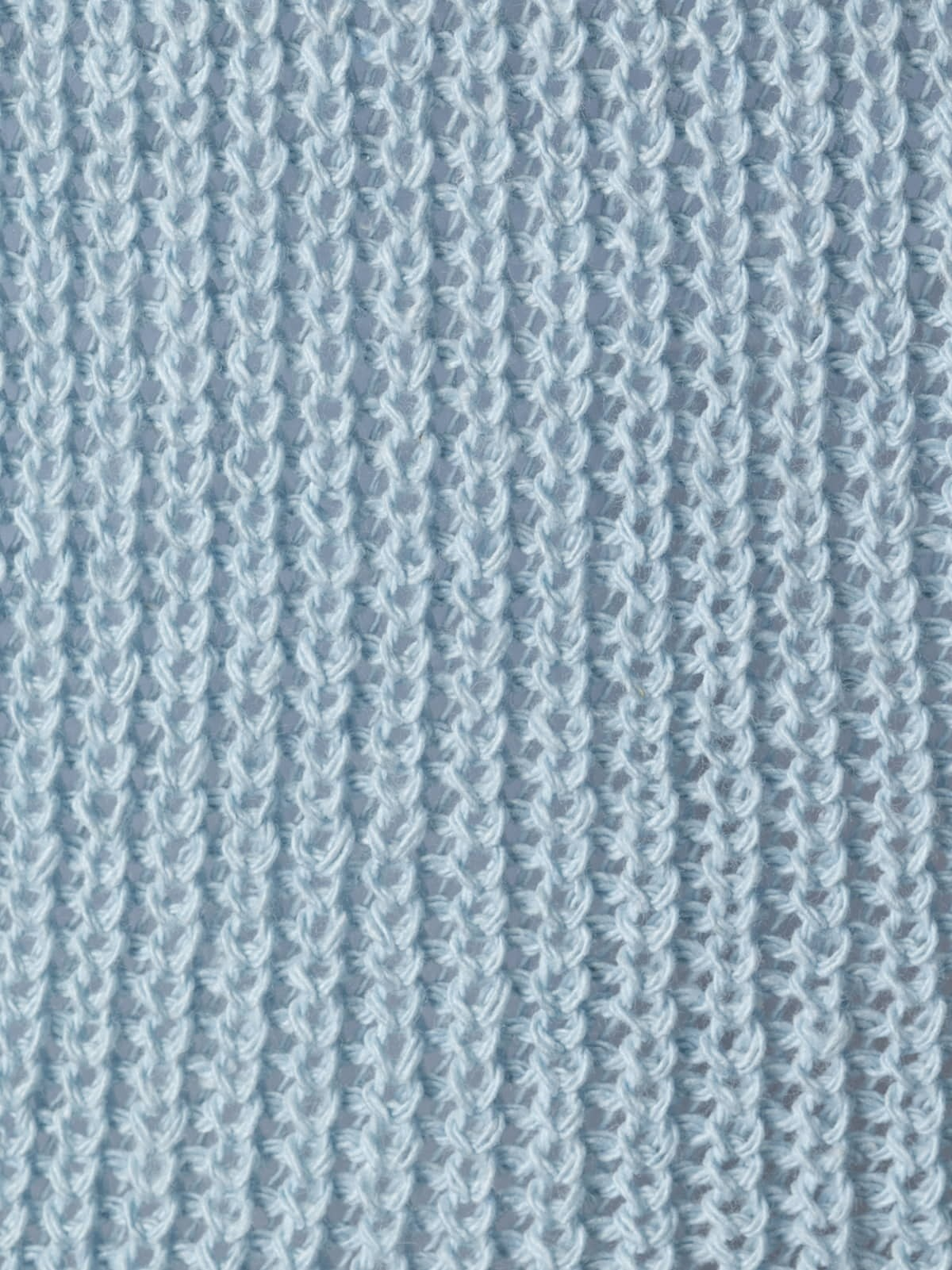 Jersey mujer punto cinta cuello pico Azul
