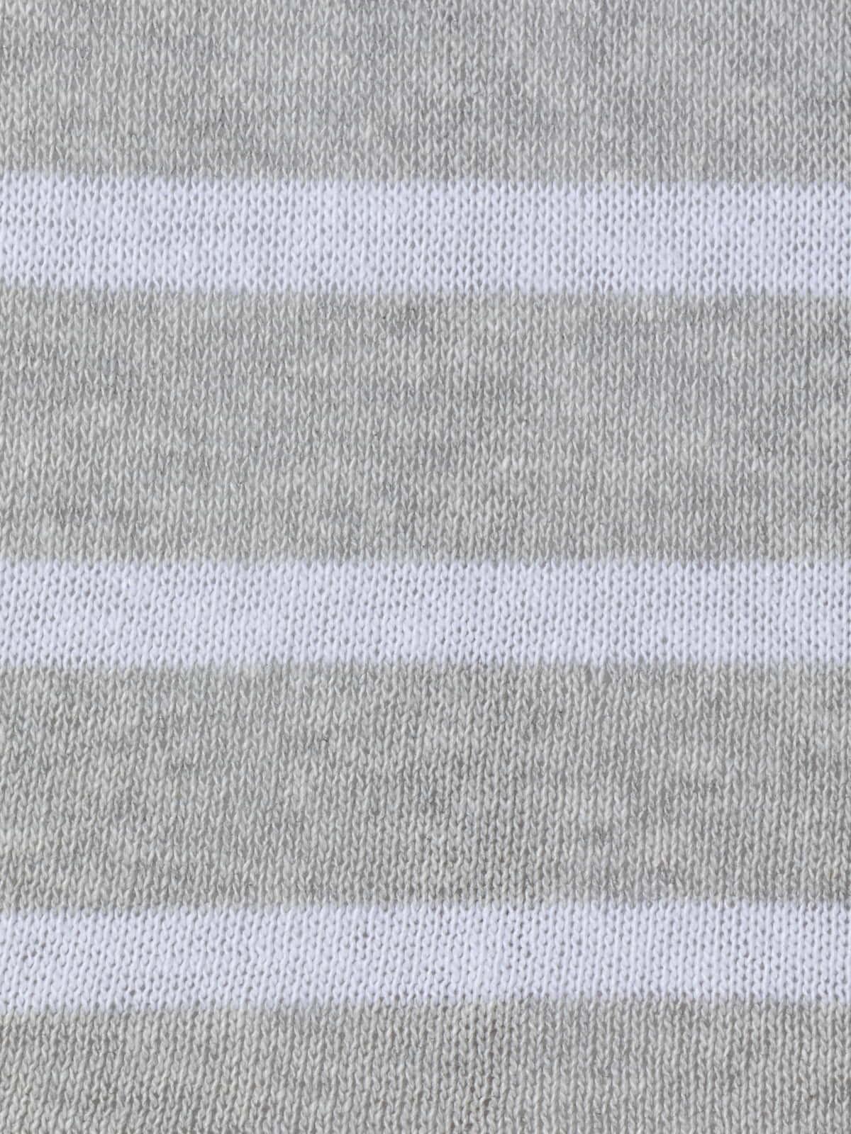 Jersey rayas mujer algodón Gris