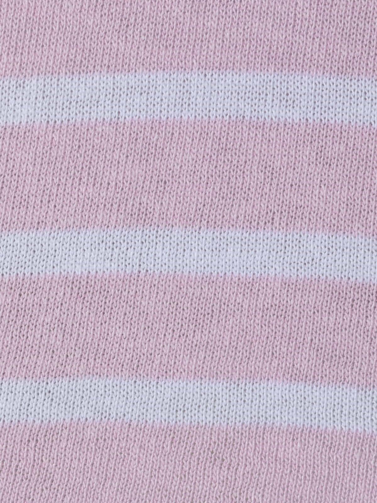 Jersey mujer de rayas algodón oversize Rosa