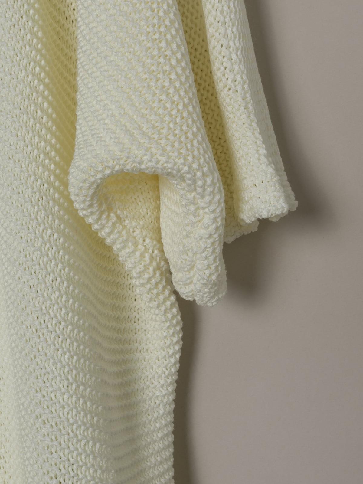 Woman Woman Short sleeve knit jacket Crudo
