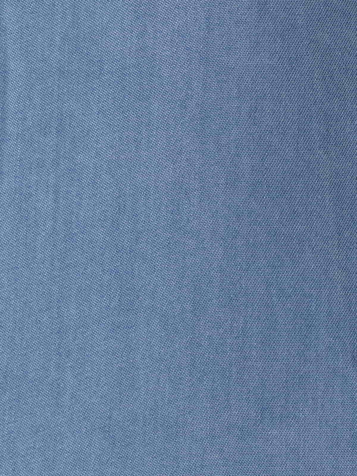Camisa mujer oversize tencel Azul