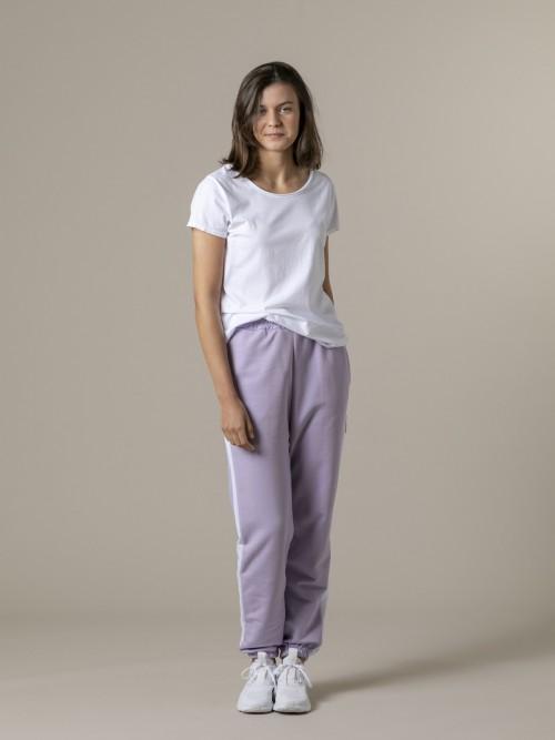 Woman Woman Striped sport pants Lila