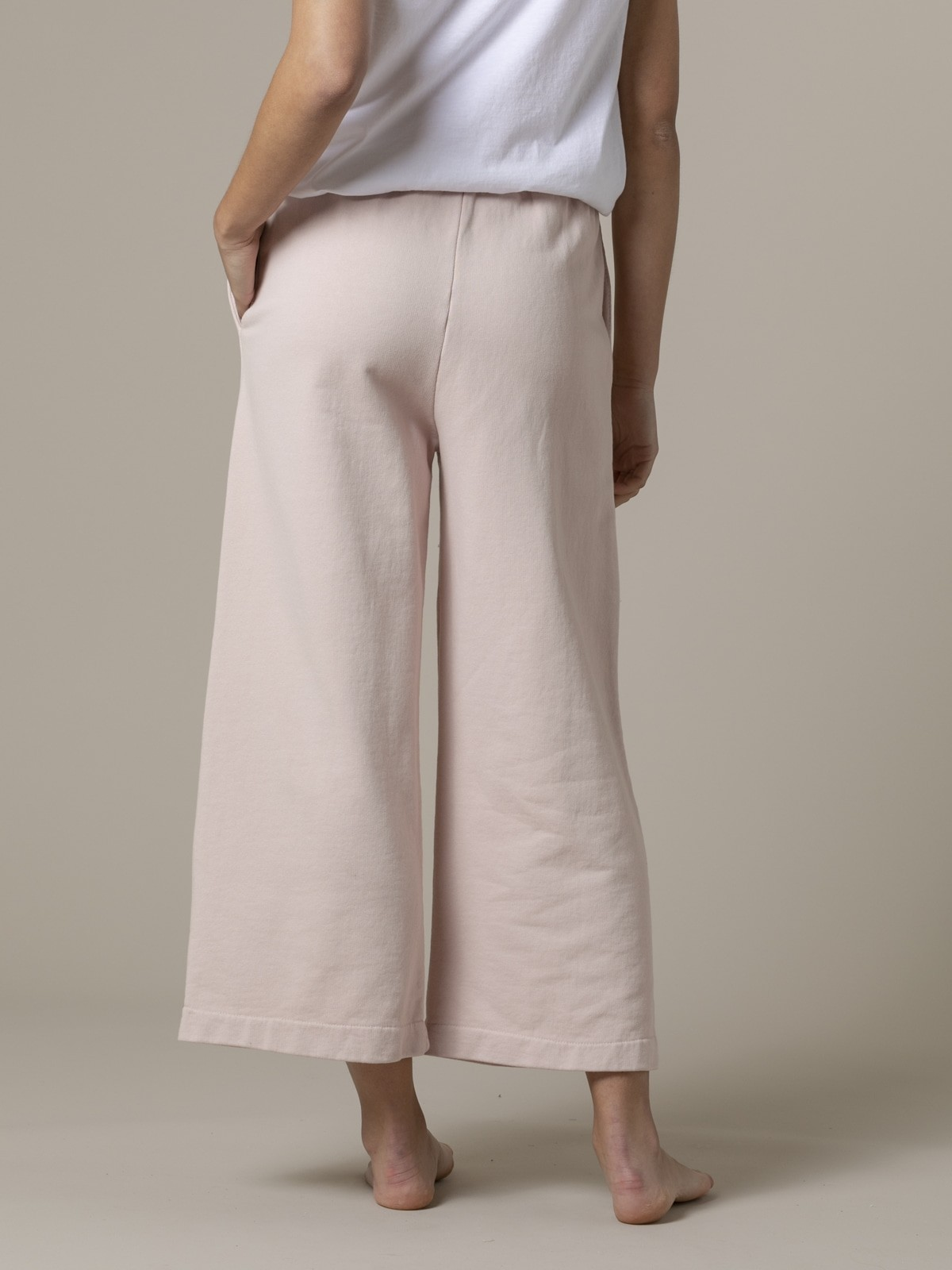 Woman Woman Palazzo sport trousers Pink