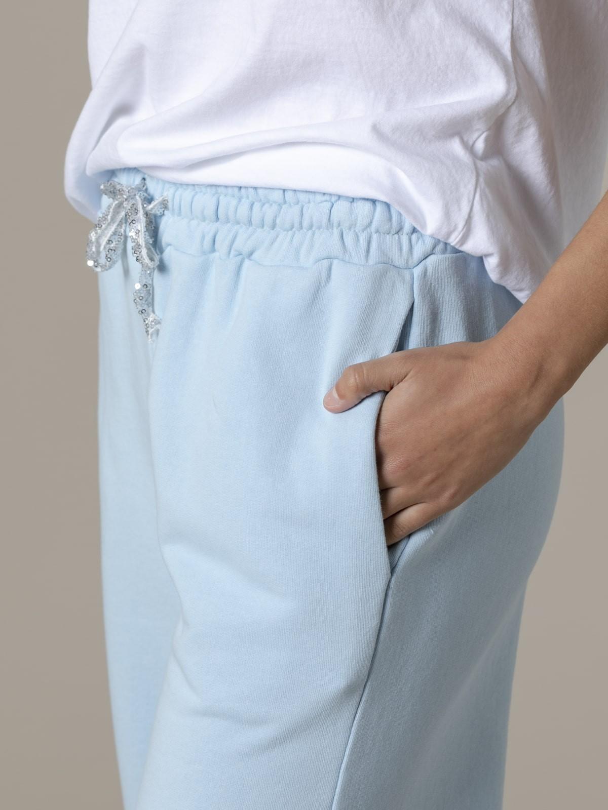 Woman Woman Palazzo sport trousers Blue