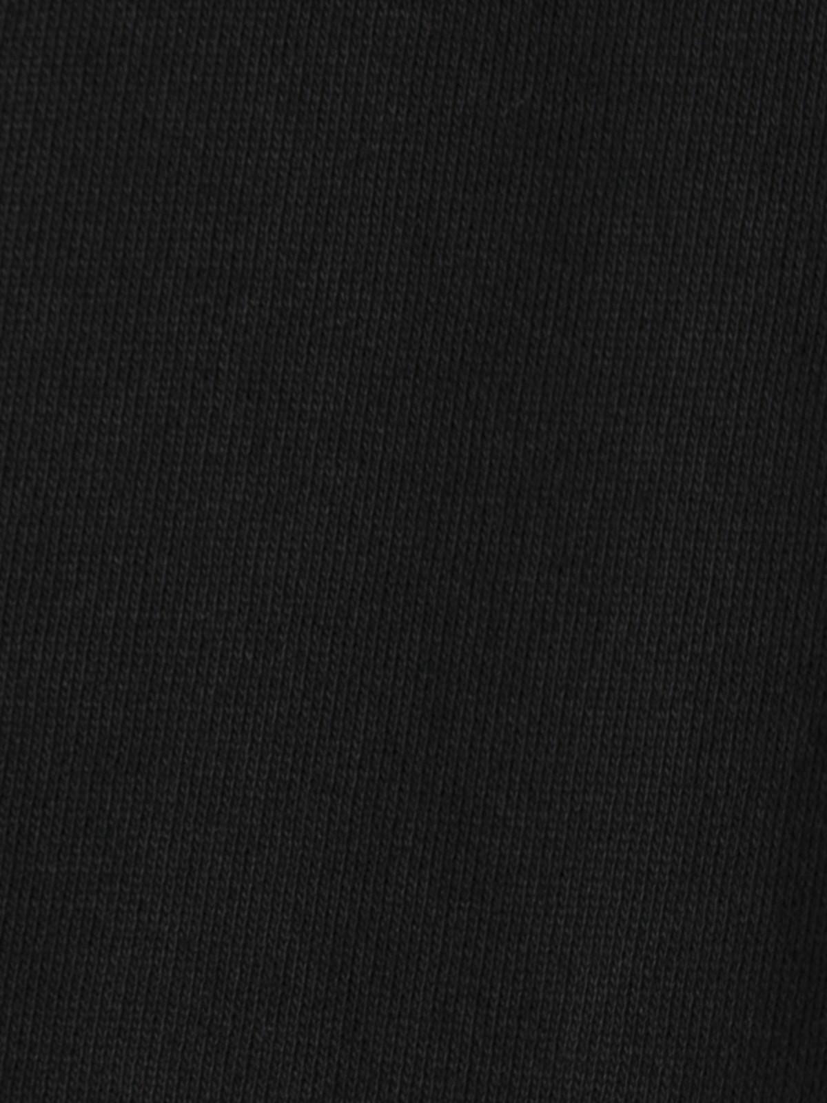 Sudadera mujer volantes Negro