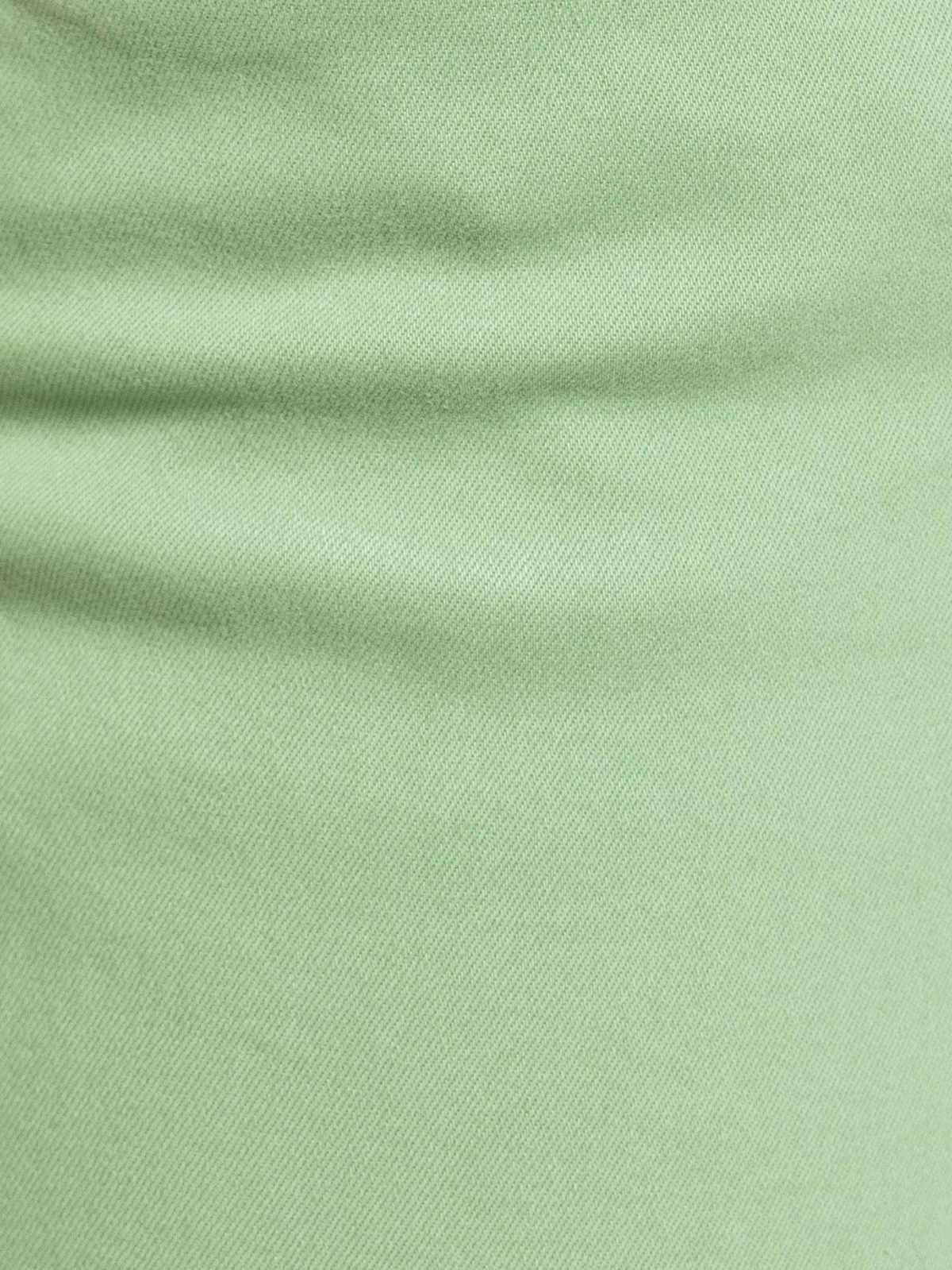 Woman Woman Elastic cotton chino pants Green