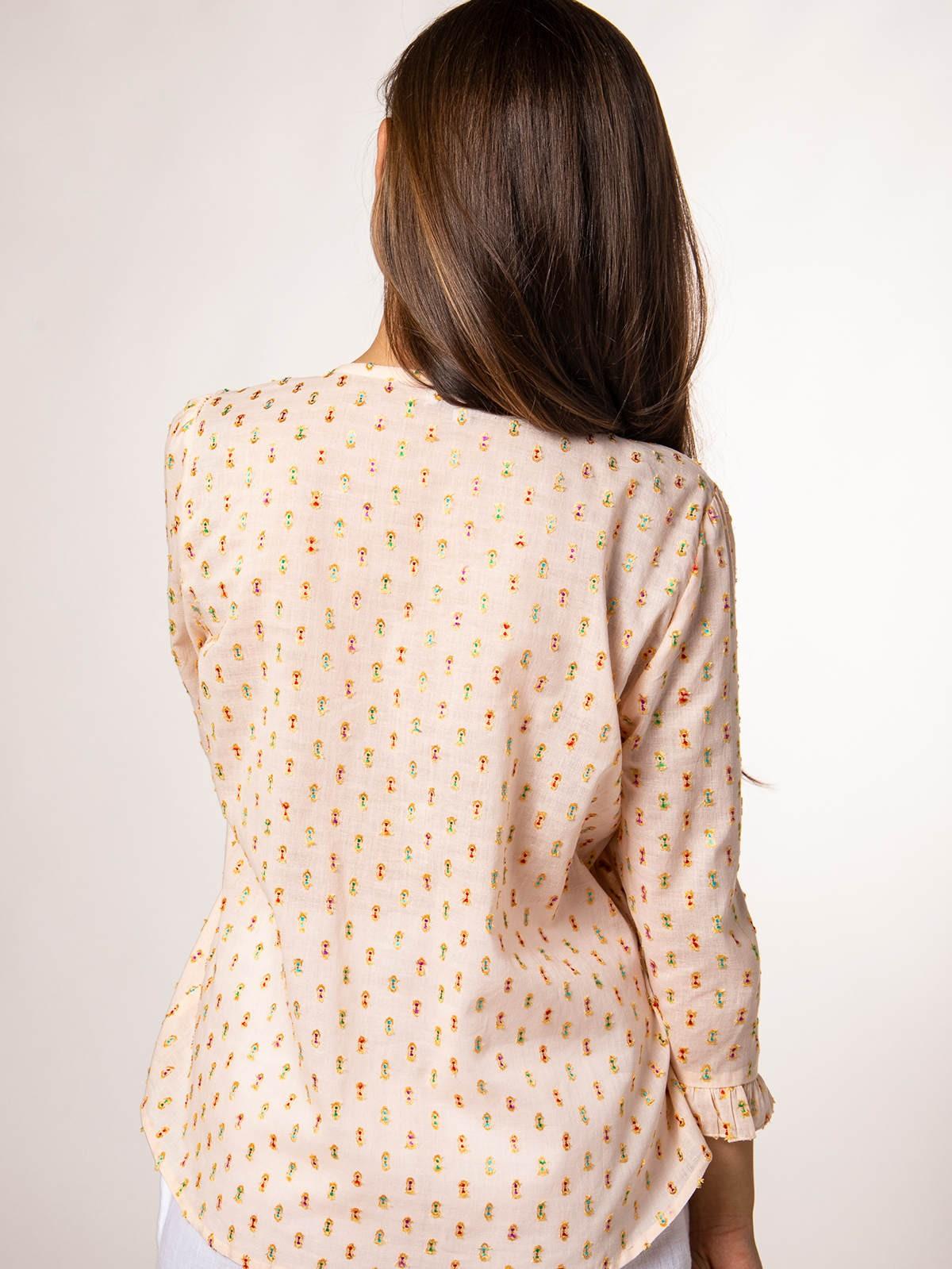 Woman Woman lurex shirt Pink