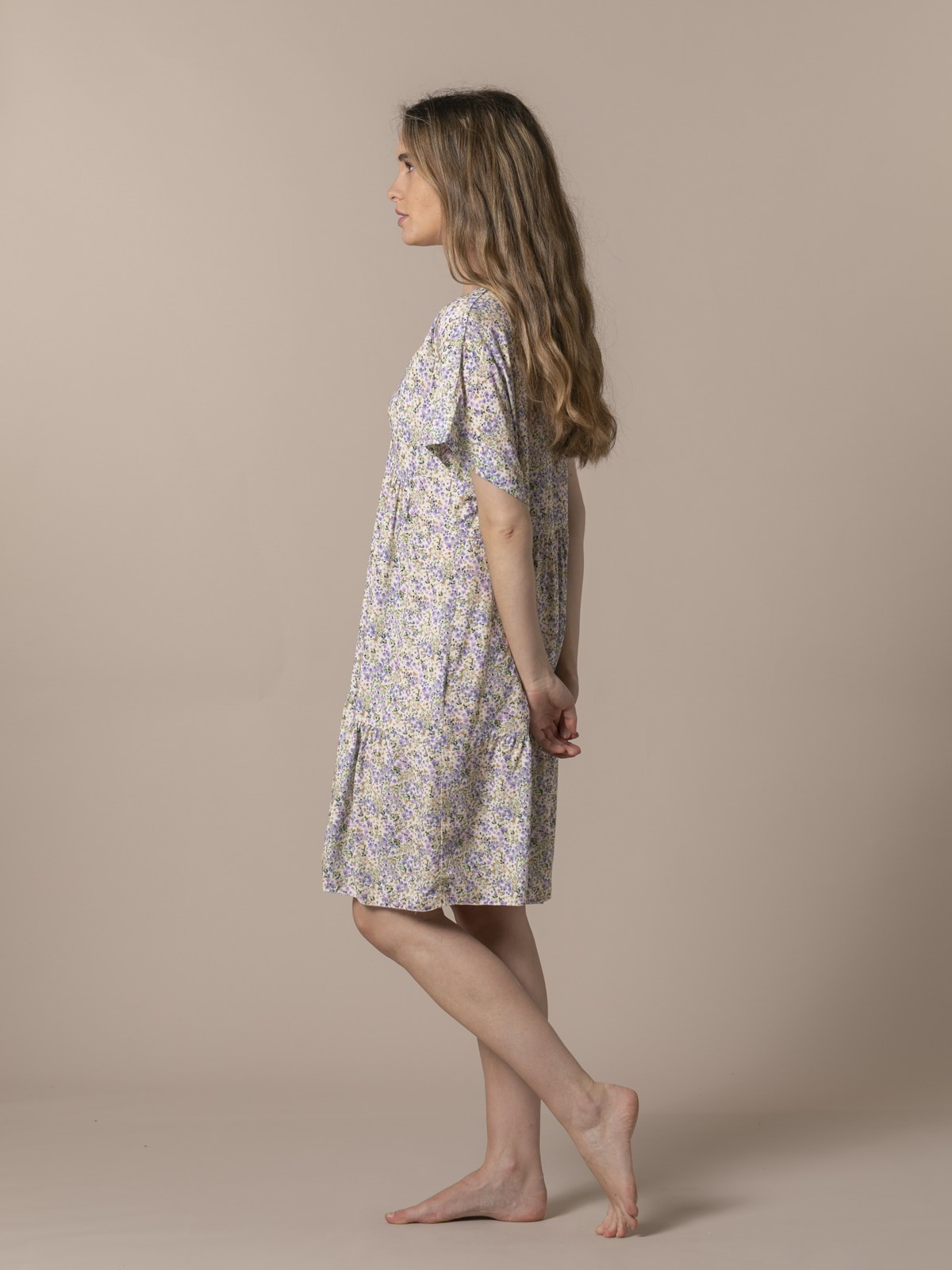 Woman Short printed dress Lila