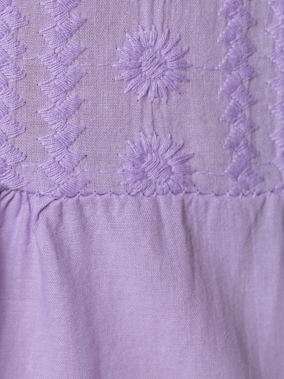 Woman Woman Embroidered dress Lila