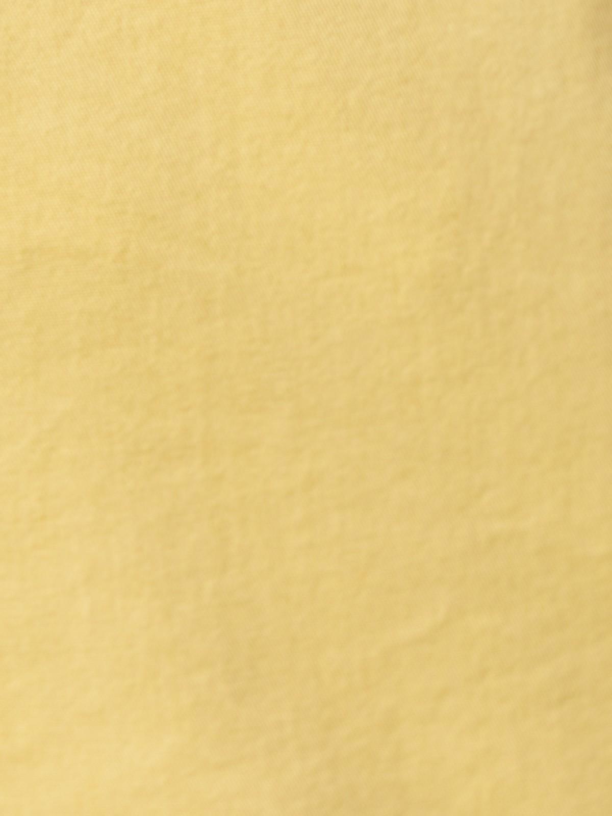 Bermuda mujer algodón y travillas Ocre