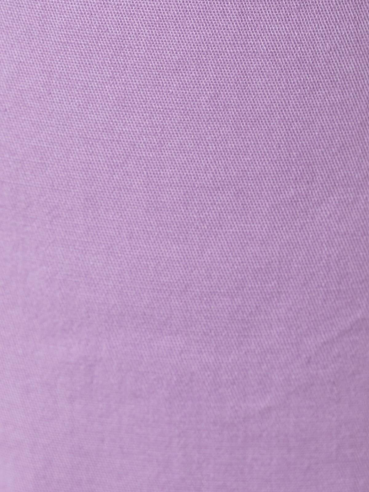 Bermuda mujer algodón y travillas Lila