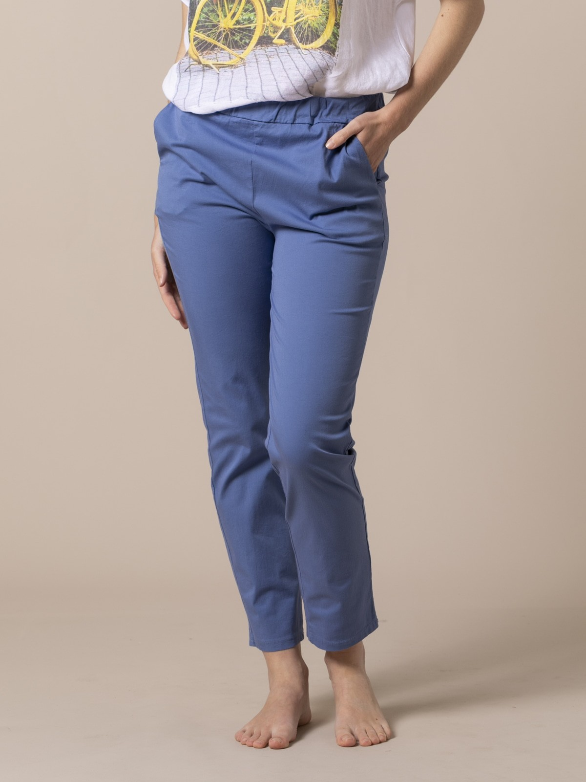 Woman Light sport trousers Blue
