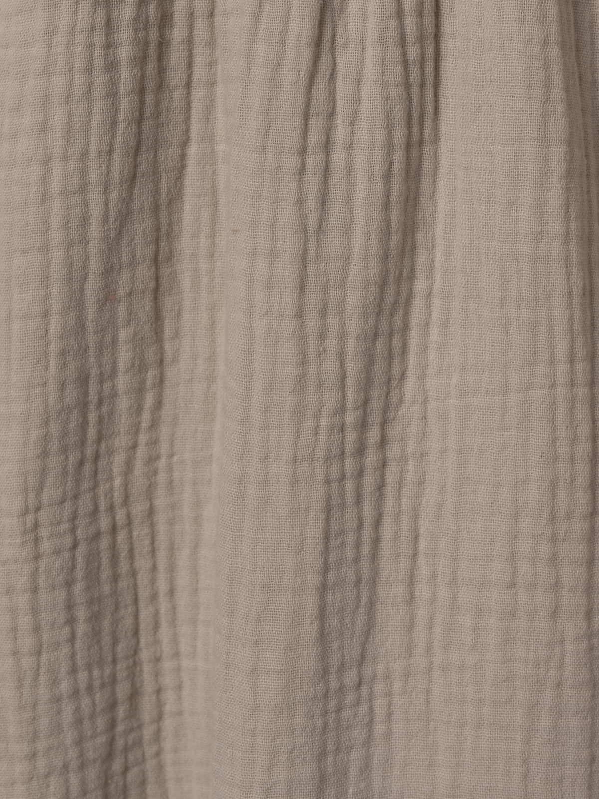 Top algodón tirante ajustable Beige