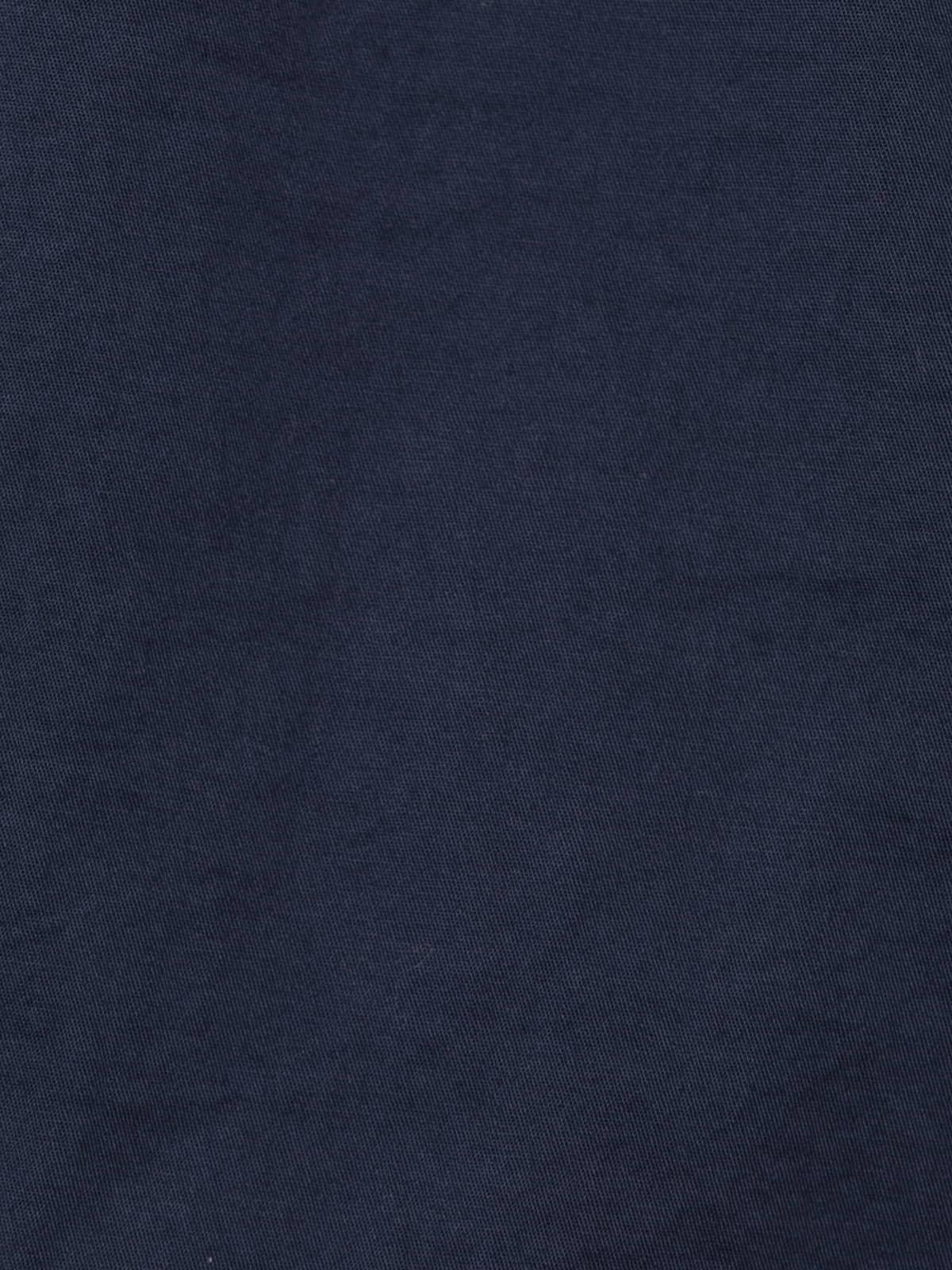 Woman Basic bermuda shorts and elastic waistband Blue Navy