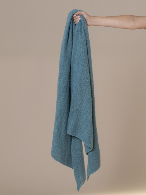 Woman Soft scarf Turquoise
