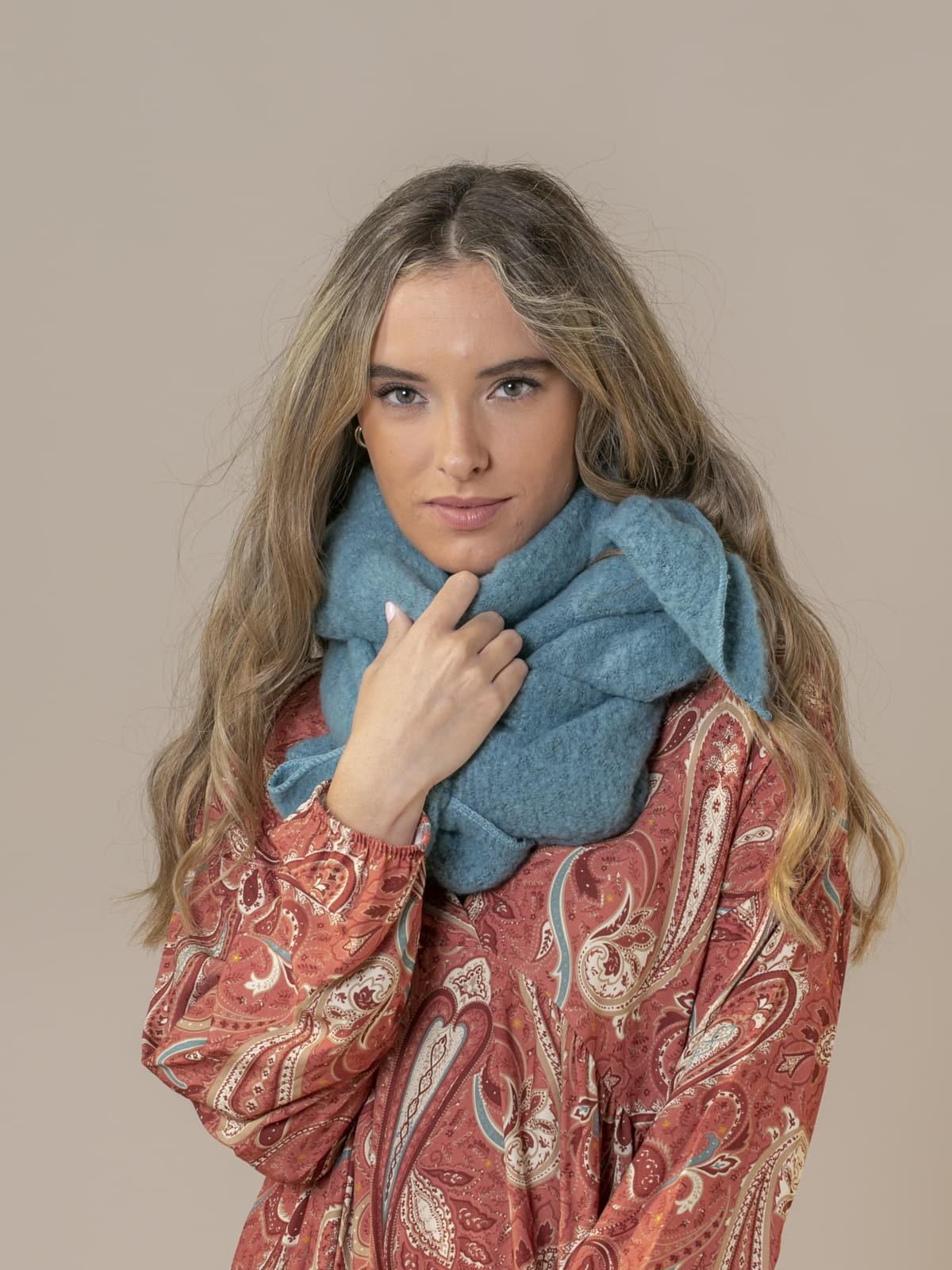 Bufanda mujer soft Turquesa