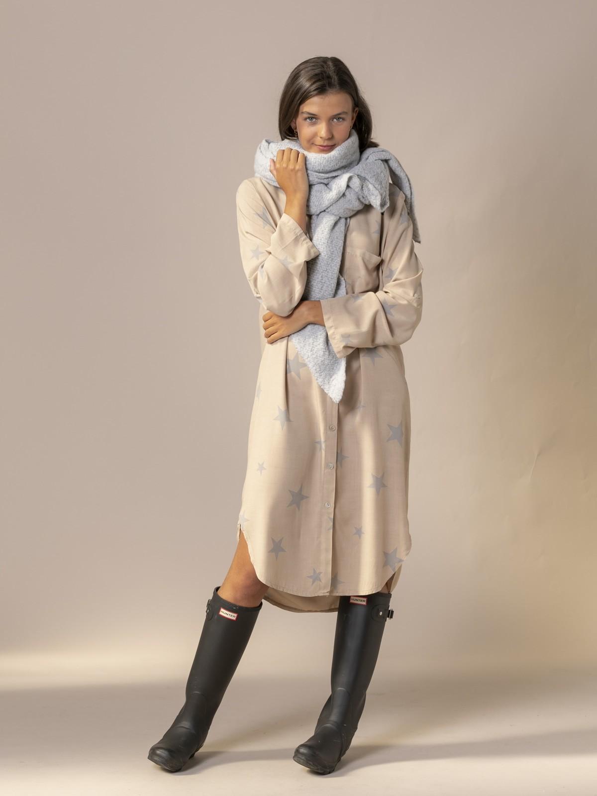 Woman Soft scarf Grey