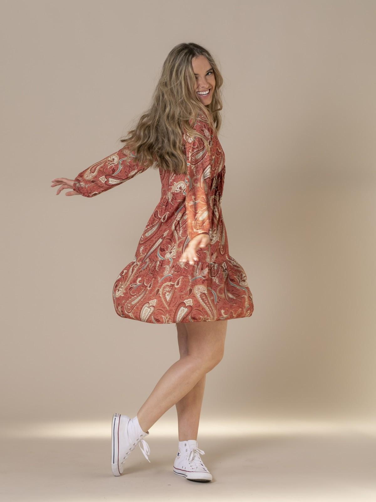 Woman Etro print dress Pink