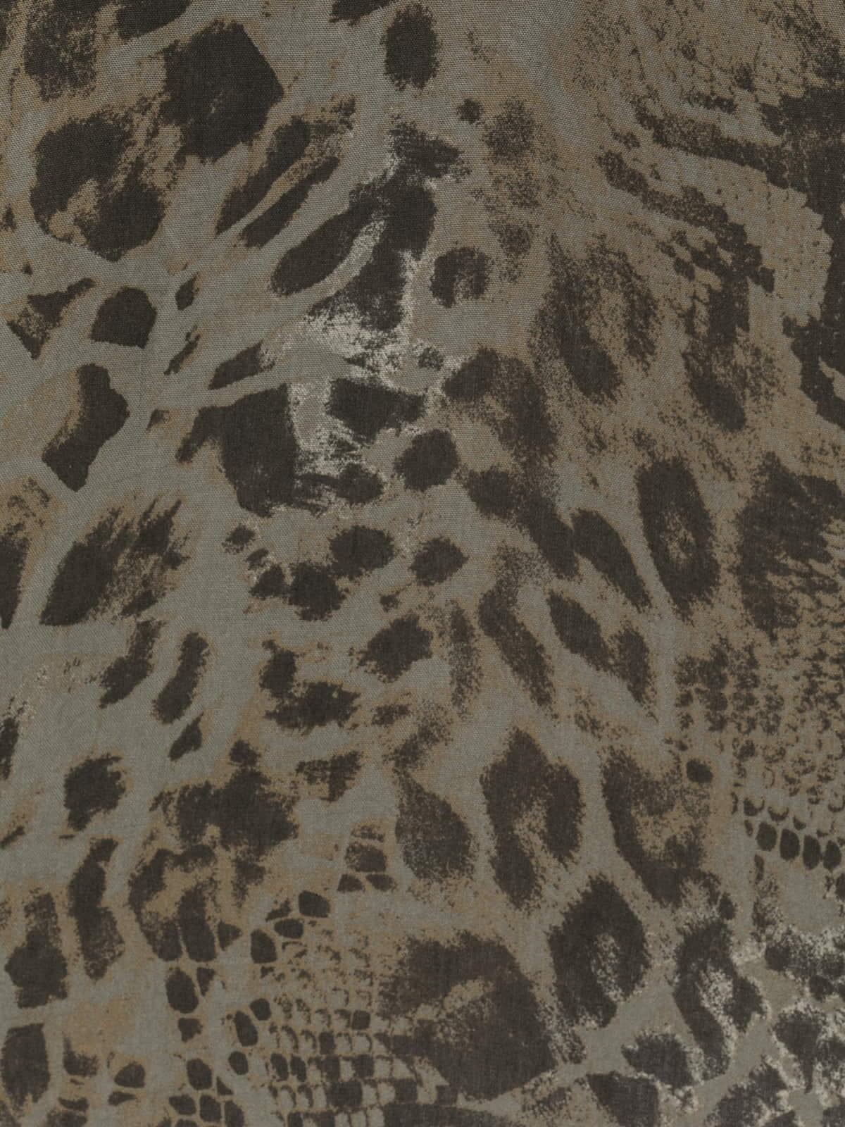 Woman Snake print shirt Khaki