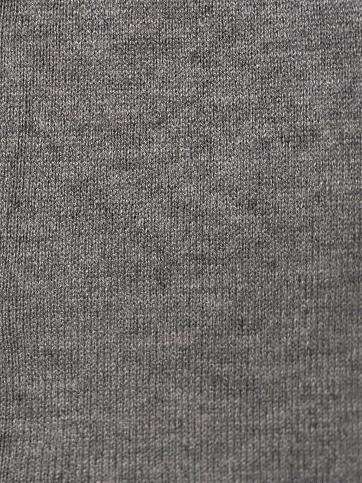 Woman Stretch low-knit trousers Grey
