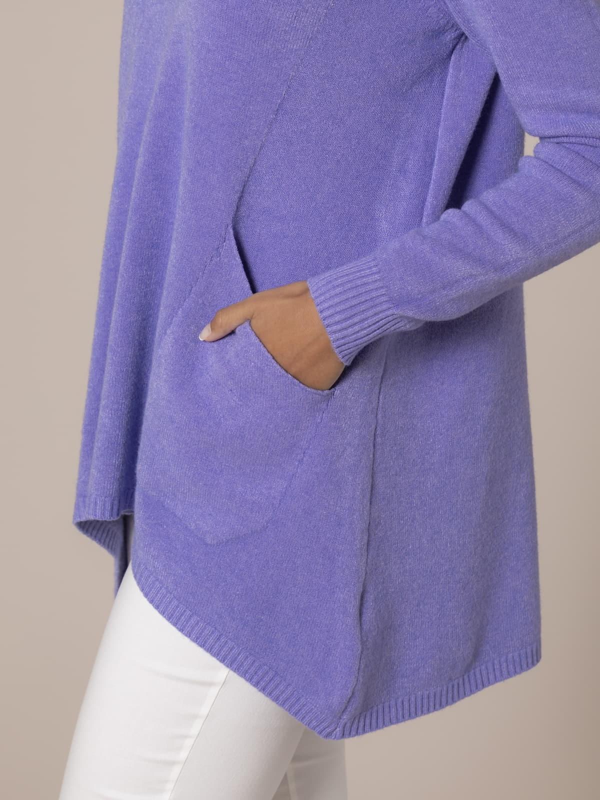 Woman Oversize knit sweater Lila