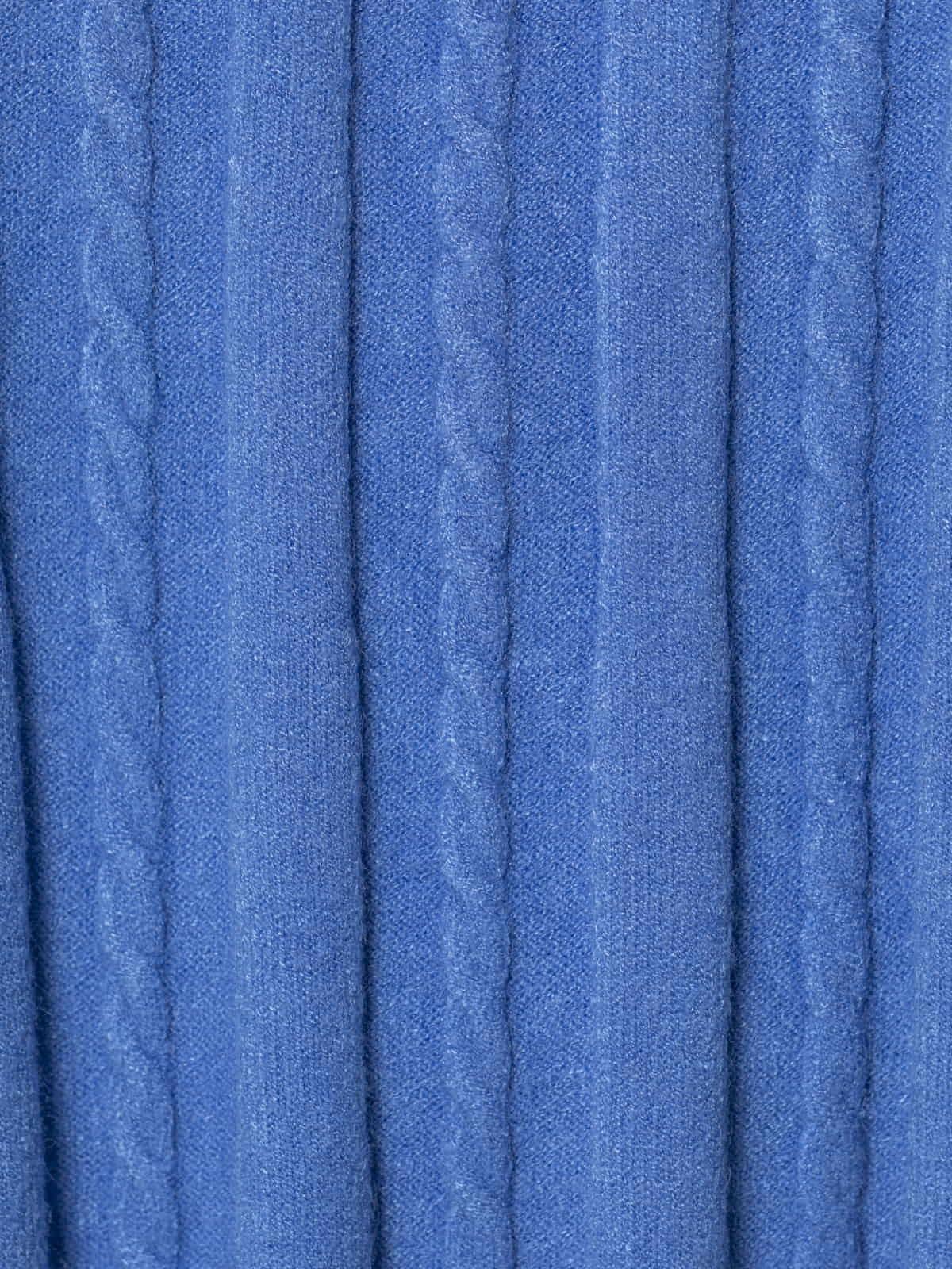 Jersey mujer punto ochos Azul