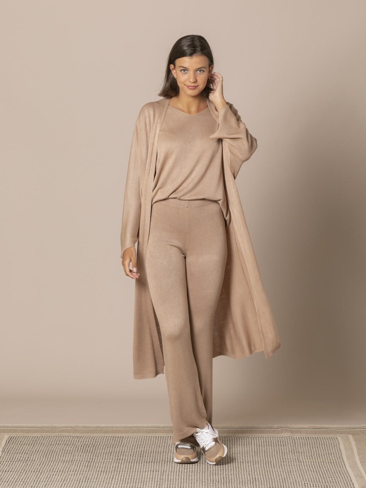 Woman Long Jacket Camel