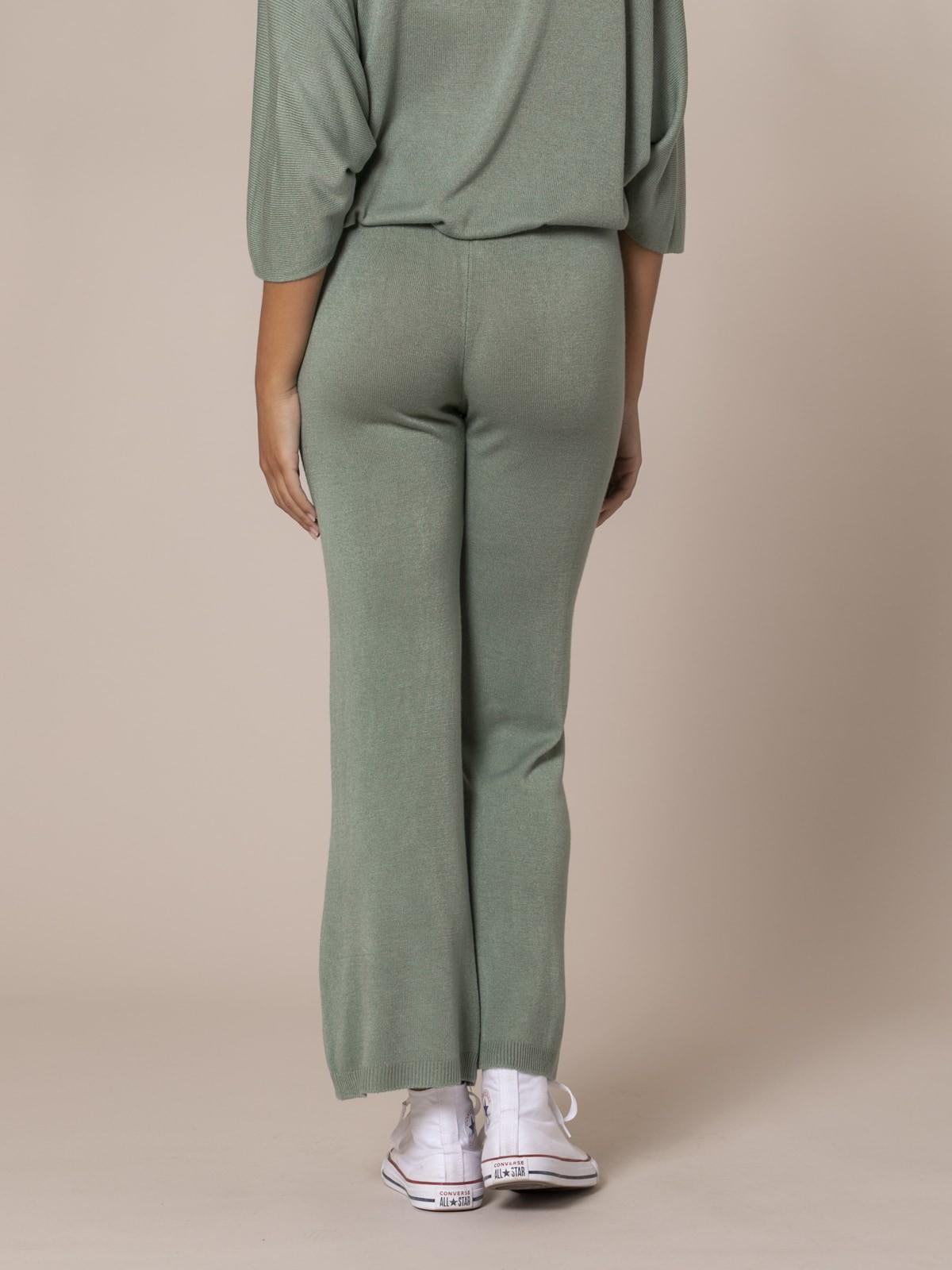 Woman Knit trousers Khaki