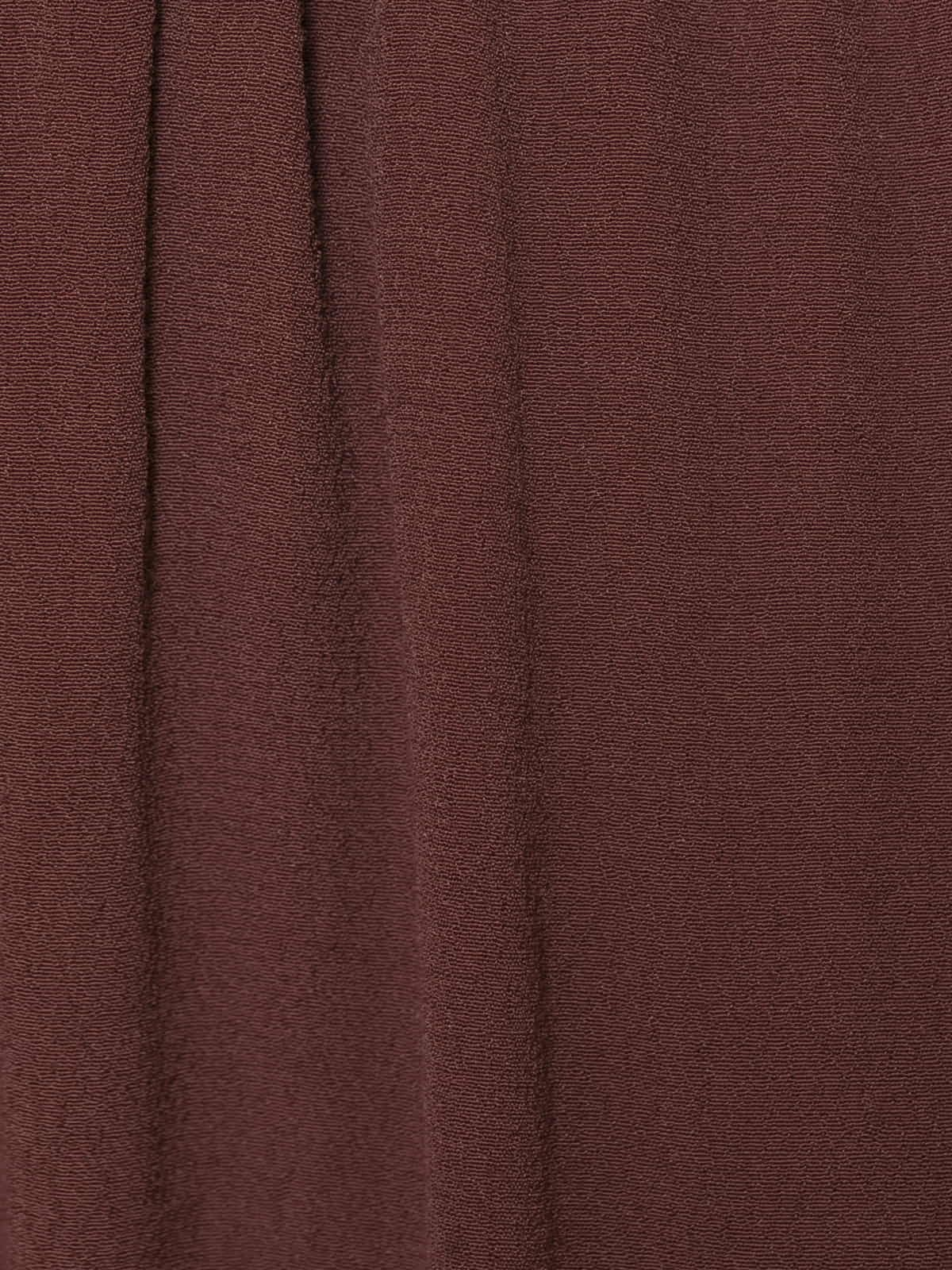 Falda crep Granate