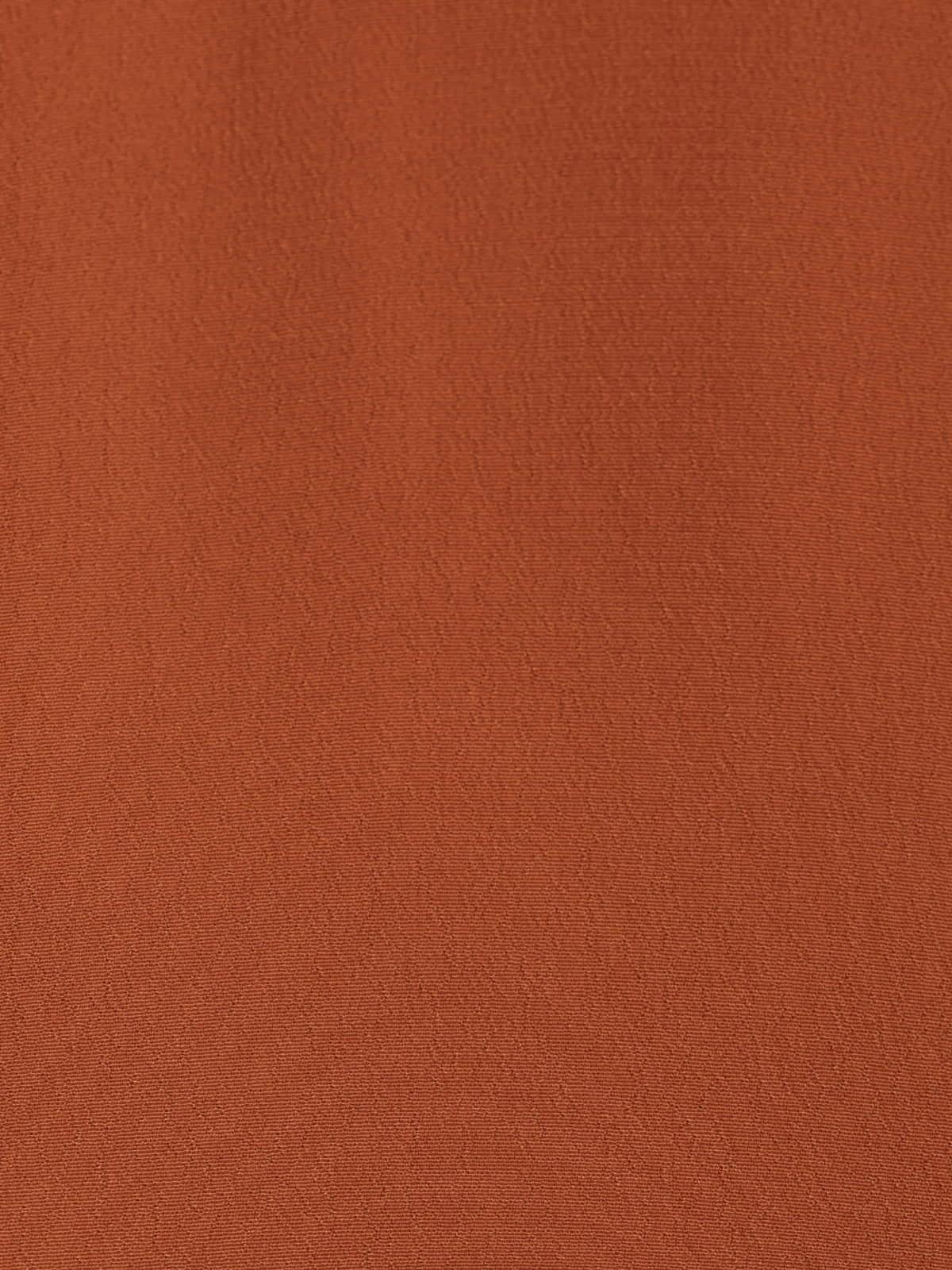 Woman Neckline detail top Orange