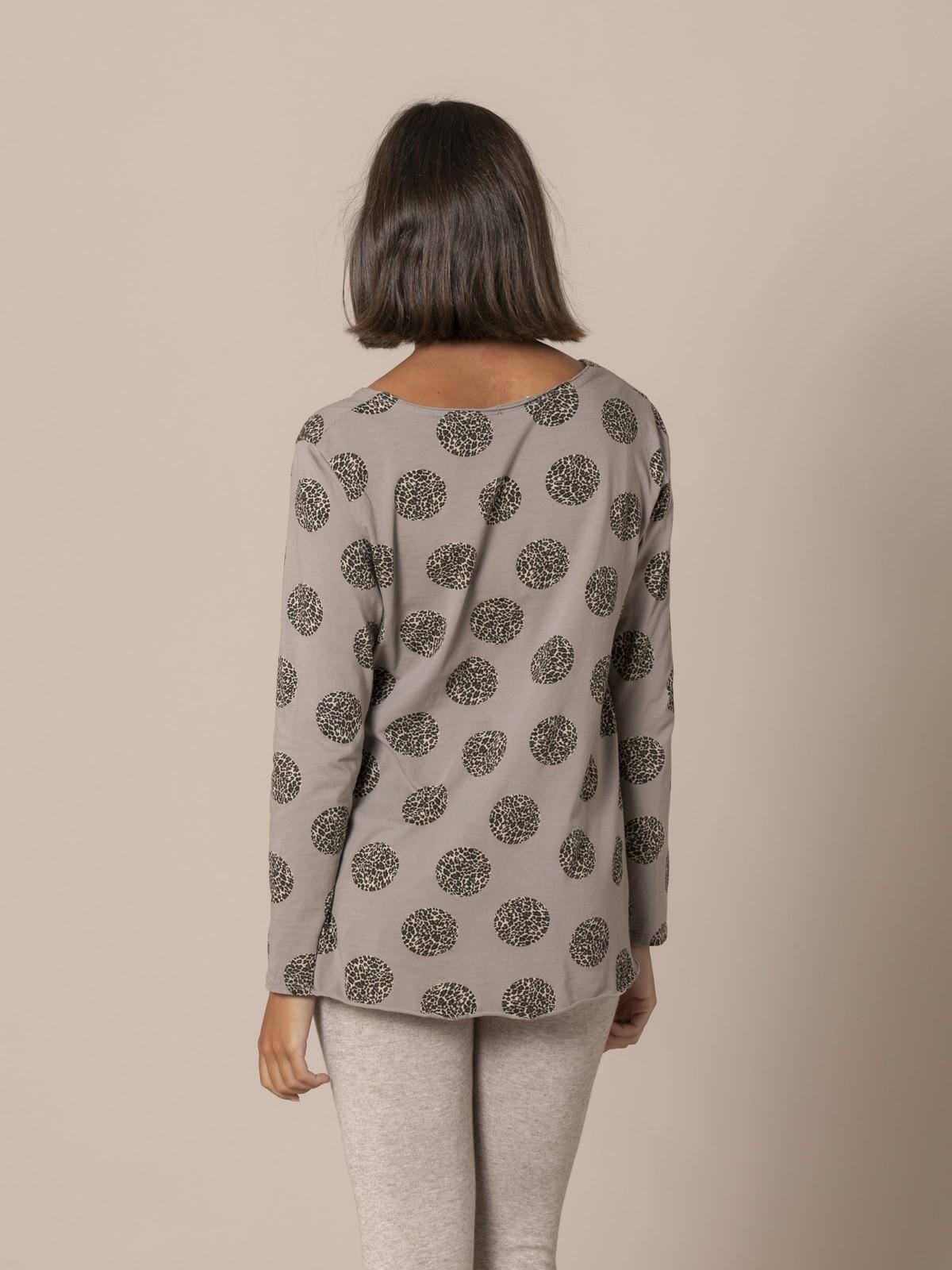 Camiseta mujer animal print fantastic Piedra