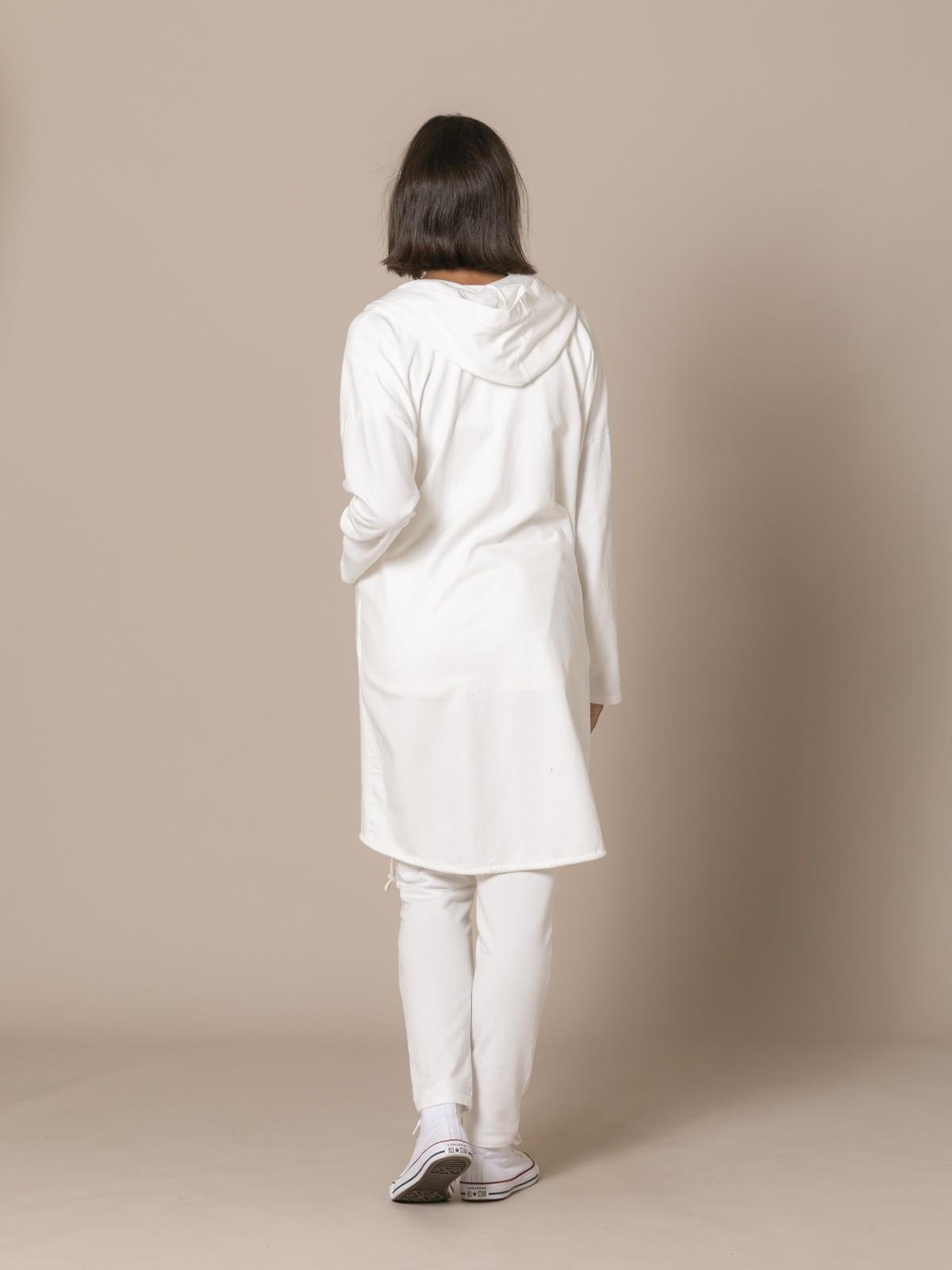 Woman Long casual jacket Crudo
