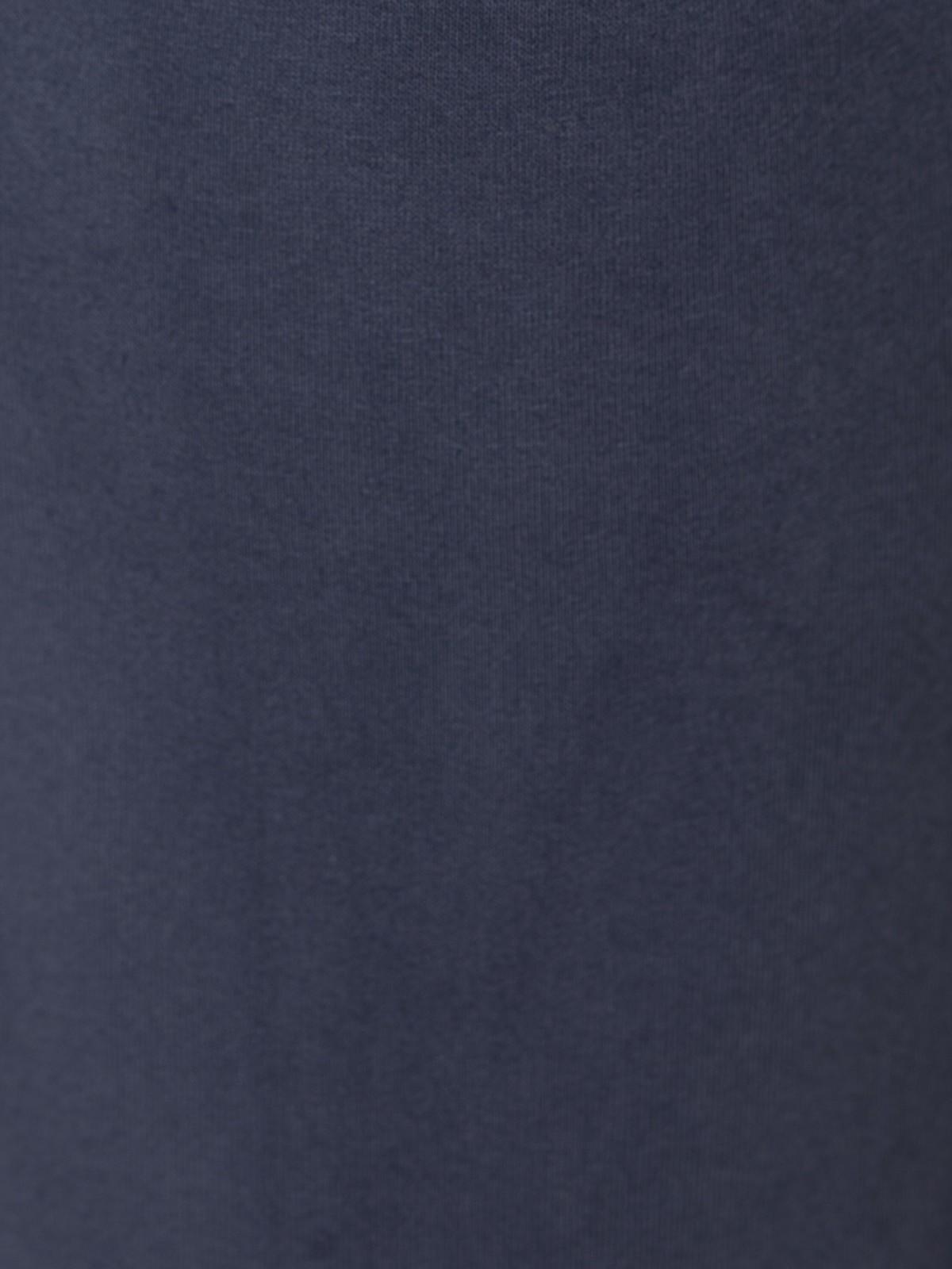 Pantalón mujer de felpa Azul Marino