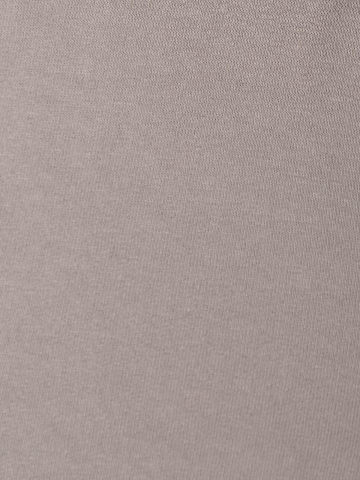 Woman Plush cotton trousers Stone