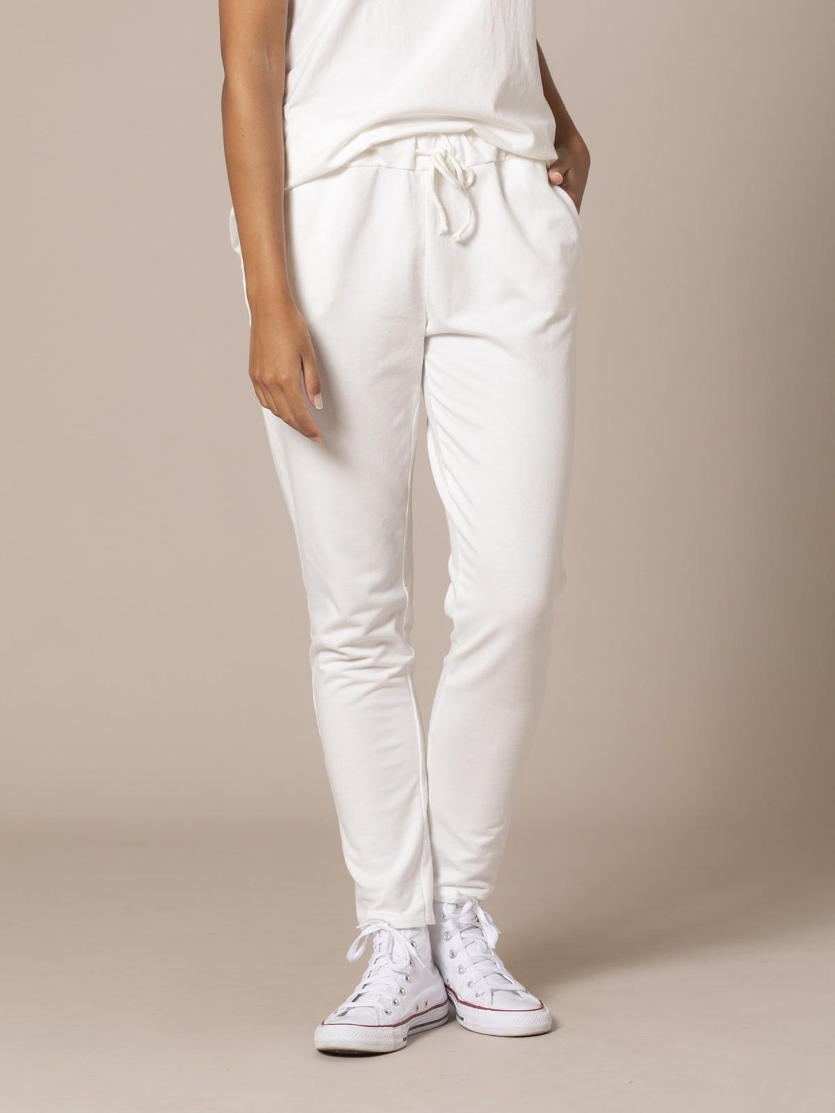 Woman Plush cotton trousers Crudo