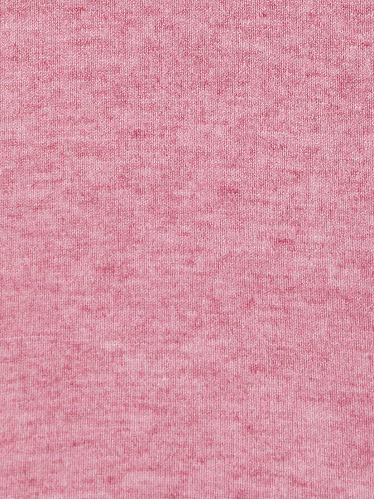 Jersey mujer punto fino cuello redondo Rosa