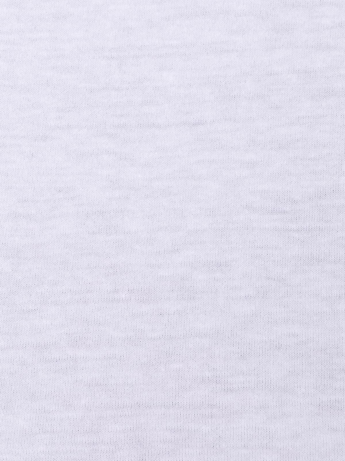 Camiseta mujer oversize 100% algodón Blanco