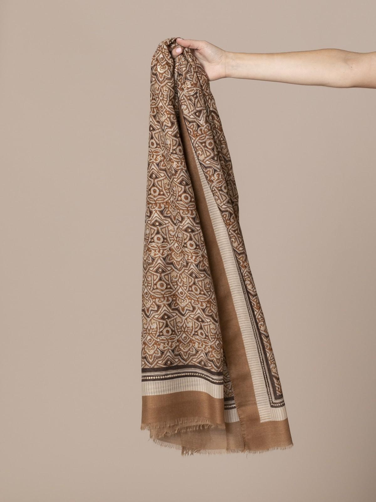 Woman Handkerchief Camel